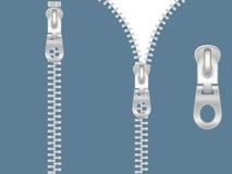 φερμουάρ συνδετήρων τέχνη&si Στοκ Εικόνες
