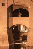 Φερράρα (Ιταλία), μεσαιωνικό κάστρο Στοκ φωτογραφίες με δικαίωμα ελεύθερης χρήσης