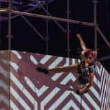 Φεστιβάλ θεάτρων οδών στην Κρακοβία 2018 Στοκ φωτογραφία με δικαίωμα ελεύθερης χρήσης