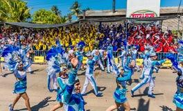 Φεστιβάλ καρναβαλιού παρελάσεων του Barranquilla Atlantico Κολομβία στοκ εικόνες
