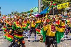 Φεστιβάλ καρναβαλιού παρελάσεων του Barranquilla Atlantico Κολομβία στοκ φωτογραφία με δικαίωμα ελεύθερης χρήσης