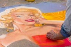 Φεστιβάλ κιμωλίας του Πασαντένα Στοκ εικόνες με δικαίωμα ελεύθερης χρήσης
