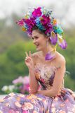 Φεστιβάλ λουλουδιών της Mai Chiang Στοκ Εικόνες