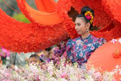 Φεστιβάλ λουλουδιών της Mai Chiang Στοκ φωτογραφίες με δικαίωμα ελεύθερης χρήσης
