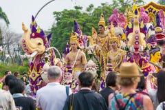 Φεστιβάλ λουλουδιών της Mai Chiang Στοκ εικόνες με δικαίωμα ελεύθερης χρήσης