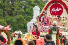 Φεστιβάλ λουλουδιών της Mai Chiang Στοκ Φωτογραφίες