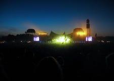 Φεστιβάλ μουσικής Στοκ Εικόνα