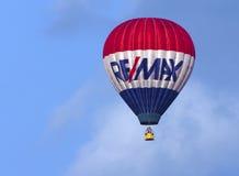 Φεστιβάλ μπαλονιών ζεστού αέρα στο Κεμπέκ στοκ εικόνες