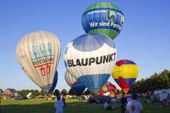 Φεστιβάλ μπαλονιών ζεστού αέρα Στοκ Φωτογραφία