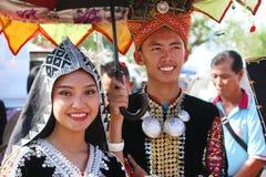 Φεστιβάλ συγκομιδών, Sabah Μπόρνεο Στοκ εικόνα με δικαίωμα ελεύθερης χρήσης