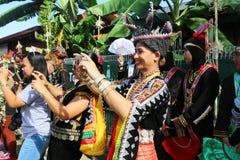 Φεστιβάλ συγκομιδών, Sabah Μπόρνεο Στοκ Φωτογραφία