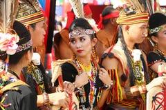 Φεστιβάλ συγκομιδών, Sabah Μπόρνεο Στοκ Εικόνες