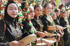 Φεστιβάλ συγκομιδών, Sabah Μπόρνεο Στοκ φωτογραφία με δικαίωμα ελεύθερης χρήσης