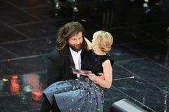 Φεστιβάλ του ιταλικού τραγουδιού, Sanremo 2013 Στοκ Εικόνες