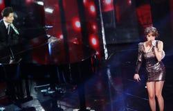 Φεστιβάλ του ιταλικού τραγουδιού, Sanremo 2013 στοκ φωτογραφία με δικαίωμα ελεύθερης χρήσης