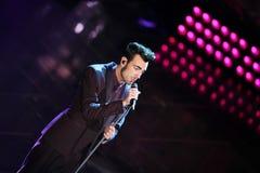 Φεστιβάλ του ιταλικού τραγουδιού, Sanremo 2013 Στοκ εικόνες με δικαίωμα ελεύθερης χρήσης