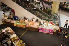 Φεστιβάλ τροφίμων κεντρικό mai Chiang φεστιβάλ Στοκ Φωτογραφίες