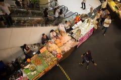 Φεστιβάλ τροφίμων κεντρικό mai Chiang φεστιβάλ Στοκ Εικόνες