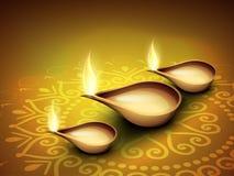 Φεστιβάλ background.EPS 10 Diwali. Στοκ Εικόνα