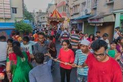 Φεστιβάλ jatra Rath - Λόρδος Jagannath που λατρεύεται στοκ εικόνες