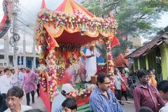 Φεστιβάλ jatra Rath - Λόρδος Jagannath που λατρεύεται στοκ εικόνα