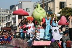 Φεστιβάλ Karnavali Lemesou 2017 της Λεμεσού καρναβάλι στοκ φωτογραφία με δικαίωμα ελεύθερης χρήσης