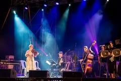 Φεστιβάλ Klezmer σε Zefat στοκ εικόνα με δικαίωμα ελεύθερης χρήσης