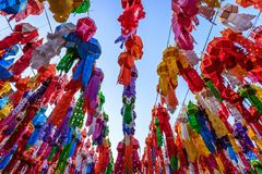 Φεστιβάλ Kratong Loi Στοκ εικόνα με δικαίωμα ελεύθερης χρήσης