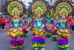 2018 φεστιβάλ Masskara στοκ φωτογραφίες