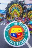 2018 φεστιβάλ Masskara στοκ εικόνες με δικαίωμα ελεύθερης χρήσης