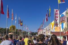 Φεστιβάλ Sziget στη Βουδαπέστη Στοκ εικόνα με δικαίωμα ελεύθερης χρήσης