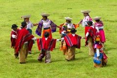 Φεστιβάλ άνοιξη σε Lloa στοκ εικόνες με δικαίωμα ελεύθερης χρήσης