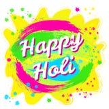 Φεστιβάλ άνοιξη Holi των χρωμάτων Στοκ εικόνα με δικαίωμα ελεύθερης χρήσης