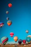 Φεστιβάλ αερόστατων Στοκ Εικόνες