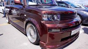 Φεστιβάλ αυτοκινήτων στην πόλη της Τούλα Ρωσική Ομοσπονδία Καλοκαίρι 2015 φιλμ μικρού μήκους