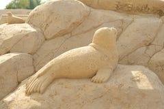 Φεστιβάλ γλυπτών άμμου σε Lappeenranta Στοκ Εικόνες