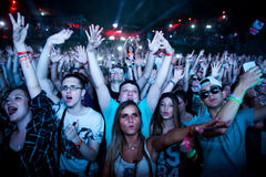 Φεστιβάλ 2015 εξόδων - χώρος χορού Στοκ Εικόνες