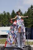 Φεστιβάλ θεάτρων οδών σε Doetinchem, οι Κάτω Χώρες την 1η Ιουλίου Στοκ εικόνες με δικαίωμα ελεύθερης χρήσης