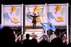 Φεστιβάλ θεάτρων οδών στην Κρακοβία Στοκ εικόνα με δικαίωμα ελεύθερης χρήσης