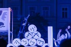 Φεστιβάλ θεάτρων οδών στην Κρακοβία Στοκ Εικόνες