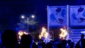 Φεστιβάλ θεάτρων οδών στην Κρακοβία Στοκ Φωτογραφίες
