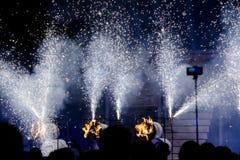 Φεστιβάλ θεάτρων οδών στην Κρακοβία Στοκ εικόνες με δικαίωμα ελεύθερης χρήσης