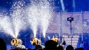 Φεστιβάλ θεάτρων οδών στην Κρακοβία Στοκ φωτογραφία με δικαίωμα ελεύθερης χρήσης
