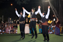 Φεστιβάλ 2014 κρασιού σε Alexandroupolis - την Ελλάδα στοκ εικόνες με δικαίωμα ελεύθερης χρήσης