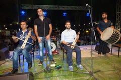 Φεστιβάλ 2014 κρασιού σε Alexandroupolis - την Ελλάδα στοκ φωτογραφία με δικαίωμα ελεύθερης χρήσης