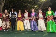 Φεστιβάλ 2014 κρασιού σε Alexandroupolis - την Ελλάδα στοκ φωτογραφίες με δικαίωμα ελεύθερης χρήσης
