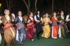 Φεστιβάλ 2014 κρασιού σε Alexandroupolis - την Ελλάδα στοκ εικόνες