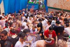 Φεστιβάλ Λα Tomatina στοκ φωτογραφία