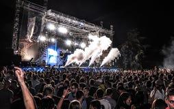 Φεστιβάλ 2013 μουσικής ΕΞΟΔΩΝ Στοκ Εικόνες