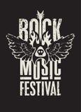 Φεστιβάλ μουσικής ροκ απεικόνιση αποθεμάτων